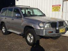 1999 Toyota Landcruiser FZJ105R GXL (4x4) Silver 4 Speed Automatic 4x4 Wagon Macquarie Hills Lake Macquarie Area Preview