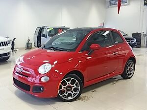 2013 FIAT 500 SPORT ROUGE PLAN OR MASTERSHIELD FOG TOIT SIEGES C