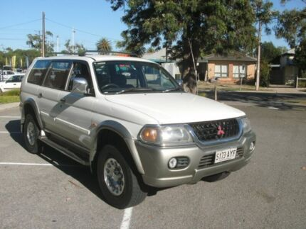 2002 Mitsubishi Challenger PA-MY03 LS (4x4) White 4 Speed Automatic 4x4 Wagon Alberton Port Adelaide Area Preview
