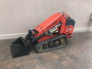 Ditch Witch SK750 Stand On Skidsteer K273