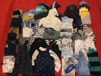 Bundle of Boys 3-6 month clothes