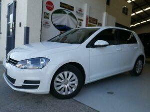 2013 Volkswagen Golf VII 90TSI White Sports Automatic Dual Clutch Hatchback Rydalmere Parramatta Area Preview