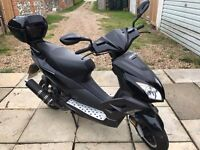 Direct Bike DB125T-32 scooter for sale. As new with cover. Only 747 miles. Collection only.