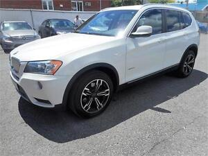 BMW X3 Xdrive 28i 2013 (NAVIGATION, BLUETOOTH, TOIT PANORAMIQUE)