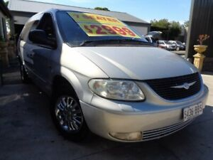 2001 Chrysler Grand Voyager RG 4th Gen SE Silver 4 Speed Automatic Wagon