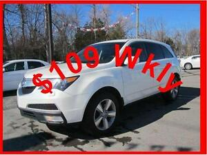 2012 ACURA MDX SH-AWD *** PAY ONLY $109.99 WEEKLY OAC ***