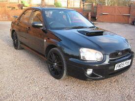 2005 05 Subaru Impreza 2.0 WRX Black 1 Previous Owner!