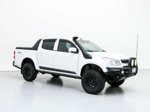 2015 Holden Colorado RG MY15 LS (4x4) White 6 Speed Manual Crew Cab Pickup