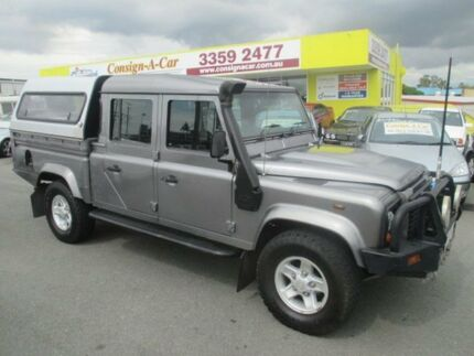 2011 Land Rover Defender 130 12MY Crew Cab Grey 6 Speed Manual Cab Chassis