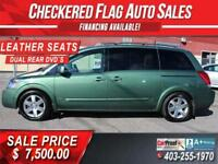 2004 Nissan Quest 3.5 SE-DVD-SUNROOFS-LEATHER-ONLY 157,000km Calgary Alberta Preview