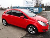 2010 Vauxhall/Opel Corsa 1.2i 16v Petrol SXi Manual Red