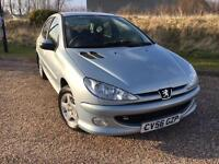 Peugeot 206 1.4 Verve 5 DOOR 2006 56 *VERY LOW MILES, CLEAN CAR, NEW MOT*