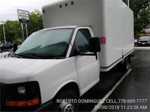 2015 GMC Savana Commercial Cutaway 16 FT BOX WITH RAMP