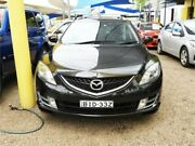 2008 Mazda 6 GH1051 Classic Black 5 Speed Sports Automatic Wagon Minchinbury Blacktown Area Preview