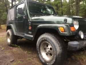1997 Jeep TJ- Located in Hinton