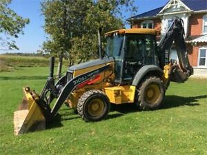 2011 John Deere 310SJ 4WD Backhoe with Quick Connect