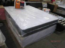 *BRAND NEW FACTORY SEALEDFree Local Delivery* DOUBLE BED DIVAN BASE4 ft 6 inch wide) with ortho/memo