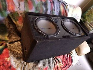 "Dual 12"" MTX Jackhammers in Ported Box"