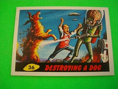 """2013 TOPPS 75TH ANNIVERSARY POP CULTURE 1962 """"MARS ATTACKS"""" BASE CARD #26 NEW"""