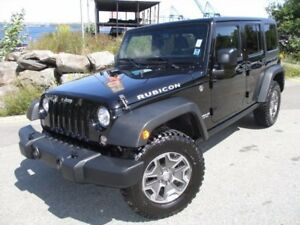 2017 Jeep WRANGLER RUBICON UNLIMITED (ONLY 12700 KMS! 4X4, 3.6L