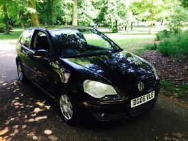 VOLKSWAGEN POLO 1.2 S 3DR Manual (black) 2006