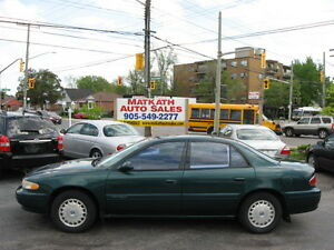 **2002 Buick Century Custom** Auto & Air, Certified & E-tested