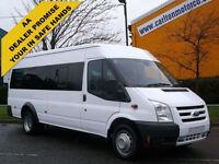 2009 / 58 Ford Transit MINIBUS T430 15 Seat [ M2 ] Low Mileage PSV'd &Tachograph