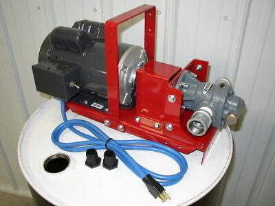 New Redline 110v Electric Bulkwaste Oil Pump34 Hp1 Gear Headheatersburner