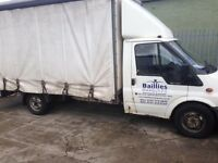 FORD TRANSIT CURTAIN SIDE
