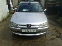 Peugeot 306 Manual in good condition quick sell mot to day 13/08/2016 v5 to good to go