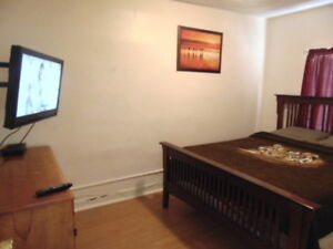 Furnished & Clean room for rent - Short / Long Term  Available