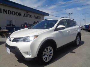 2013 Toyota RAV4 Limited 2.5 4CYL 6SPD AUTO AWD ONLY 68595KMS