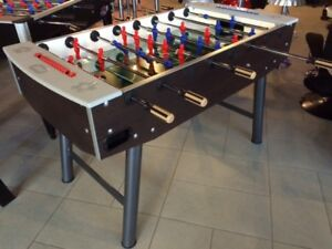 FAS FUN HOME SOCCER TABLE WITH PROFESSIONAL BEARINGS AND HANDLES