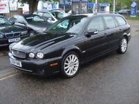 Jaguar X-TYPE 2.2 D S 5dr, 2008 model, Long MOT, Clean in & out