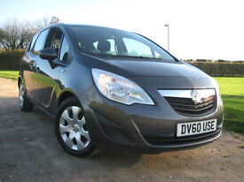 Vauxhall Meriva 1.4 16v ( 100PS ) ( a/c ) Exclusiv