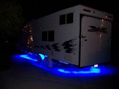 __ LED Motorhome RV Lights ____ 16 feet of LED Awning Lights (300 LEDs) x rope