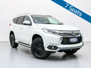2017 Mitsubishi Pajero Sport MY16 Exceed (4x4) 7 Seat White 8 Speed Automatic Wagon Jandakot Cockburn Area Preview