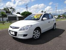 2010 Hyundai i30 FD MY10 SX 1.6 CRDi White 4 Speed Automatic Hatchback Bungalow Cairns City Preview