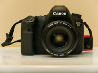 Canon EOS 6D - Body only in excellent condition