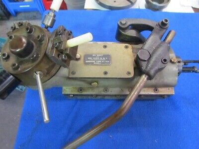 Hardinge Bed Turret For Small Dovetail W Tooling  H-611
