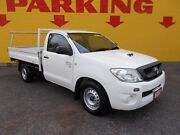 2011 Toyota Hilux KUN16R MY10 SR 4x2 White 5 Speed Manual Cab Chassis Winnellie Darwin City Preview