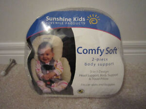 NEW Sunshine Kids Diono Comfy Soft 2 piece support pillow Baby