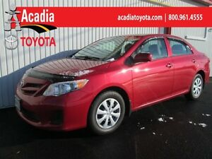 2013 Toyota Corolla CE Enhanced Conv with Moonroof Pkg!