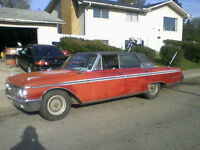 62'Galaxie 500.runs and drives!!!$2000.this weekend!!!!
