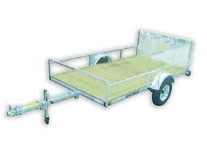 REMEQ UTILITY TRAILERS STEEL GALVANIZED & US CARGO BLACK