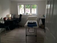 Two treatment rooms for hire in the lovely new Pilates Therapy Centre in Ferndown Dorset.
