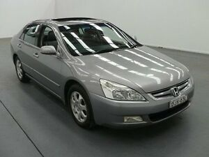 2004 Honda Accord 40 V6 Luxury Grey 5 Speed Automatic Sedan Fyshwick South Canberra Preview