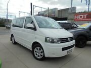 2011 Volkswagen Multivan T5 MY12 TDI340 Comfortline White 7 Sports Automatic Dual Clutch Wagon Granville Parramatta Area Preview