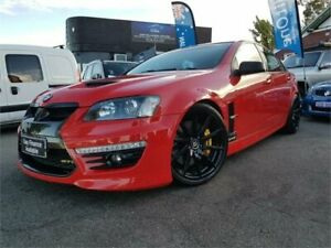 2009 Holden Special Vehicles GTS E2 Series Red 6 Speed Auto Active Sequential Sedan