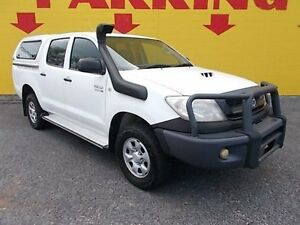 2011 Toyota Hilux KUN26R MY10 SR White 4 Speed Automatic Utility Winnellie Darwin City Preview